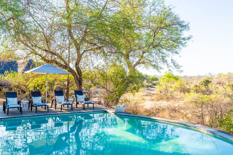 There's a pool at Thornybush if you'd like to take a dip