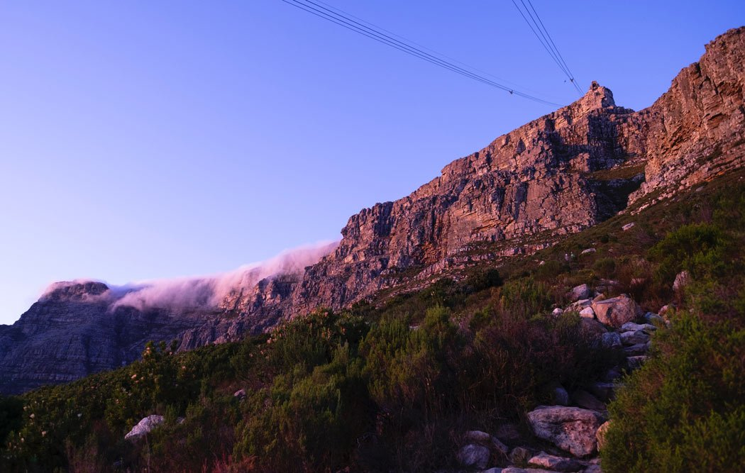 Taking the cable car up Table Mountain is one of the best things to do in Cape Town, South Africa.