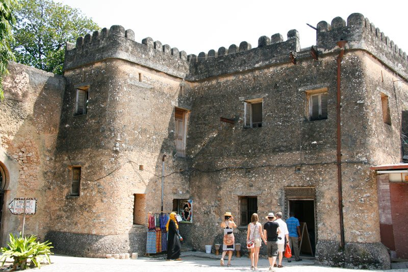 The Old Fort of Zanzibar in Stone Town