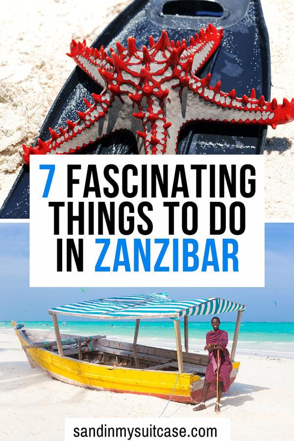 What to do in Zanzibar? Many fascinating things!