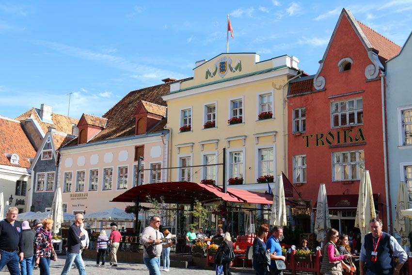 Raekoja Plats (Tallinn Old Town Square)