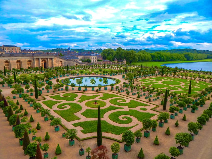 The Gardens of Versailles are among the most beautiful gardens in the world.