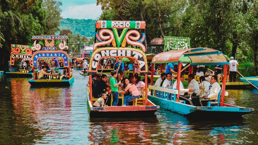 Xochimilco is a fun Mexico day trip!
