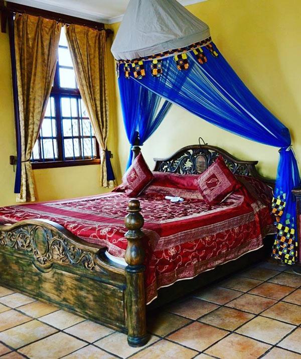Zanzibar Palace guest room