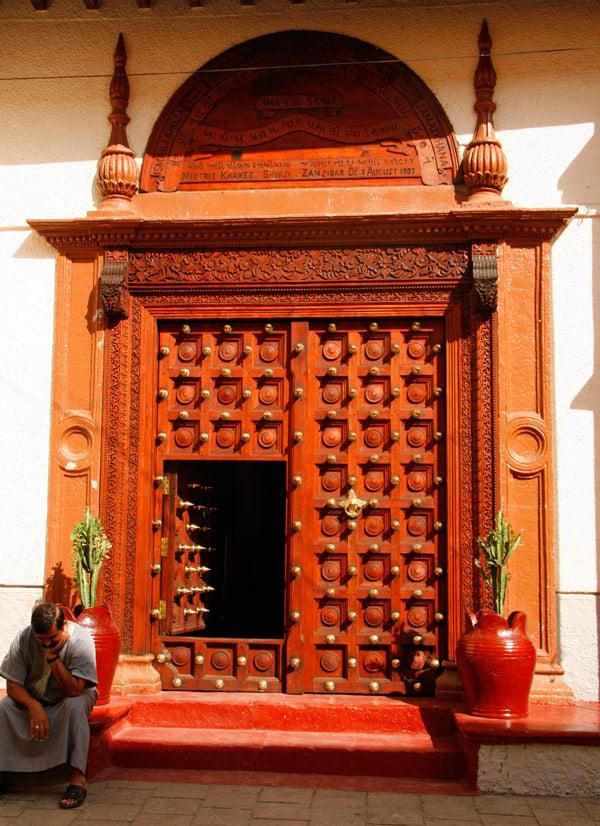 Zanzibar door in Stone Town