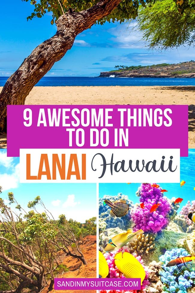 Best things to do in Lanai, Hawaii!