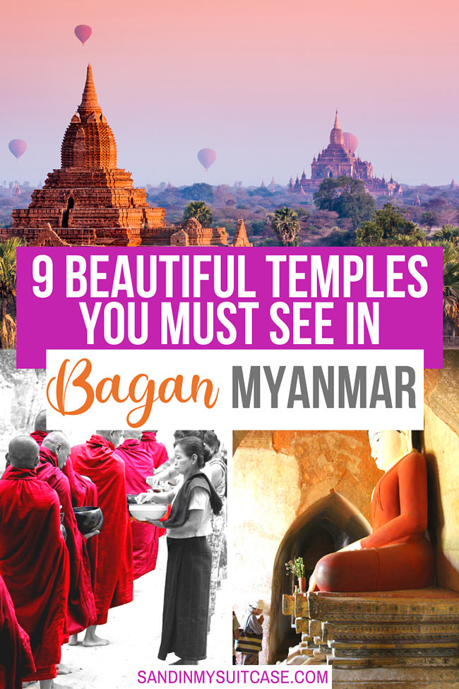 Most beautiful temples in Bagan, Myanmar