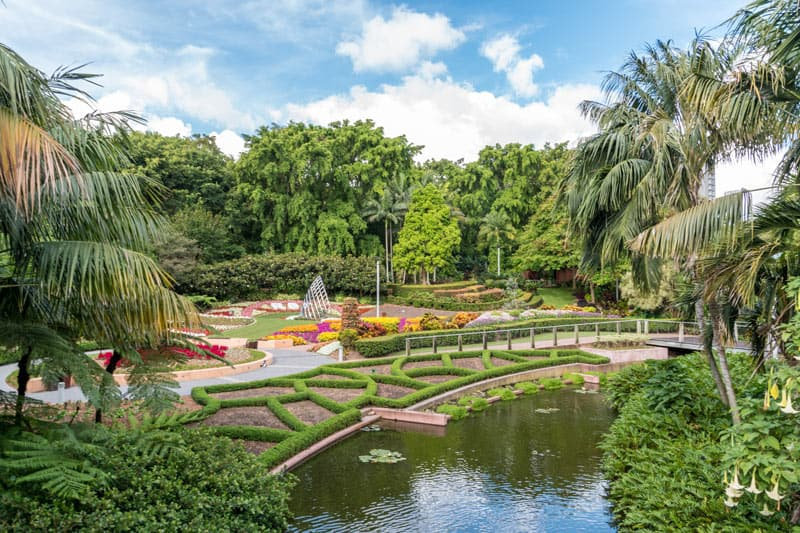 The Brisbane Botanic Gardens are some of the most beautiful gardens in Australia.