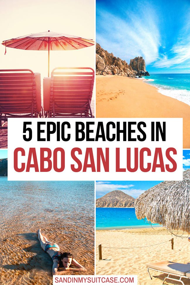 Most beautiful beaches in Cabo San Lucas