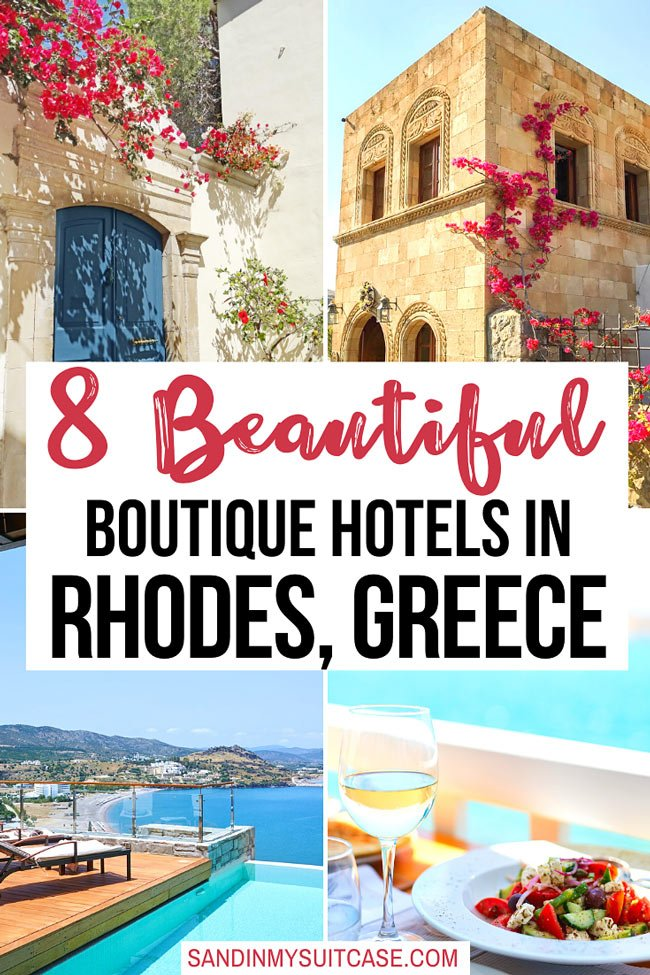 Boutique hotels in Rhodes, Greece
