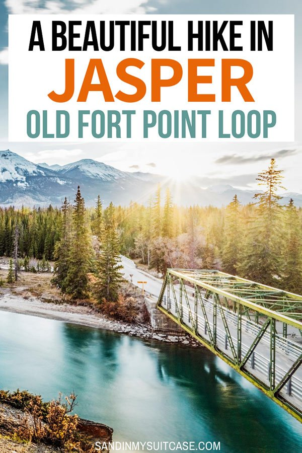 The Old Fort Point Loop is one of the best scenic hikes in Jasper!