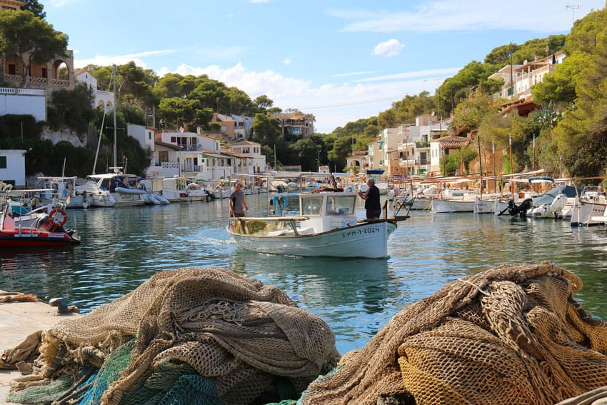 Cala Figuero is a traditional fishing village