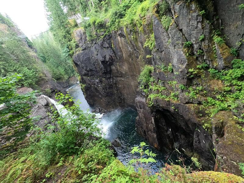 Campbell river at Elk Falls