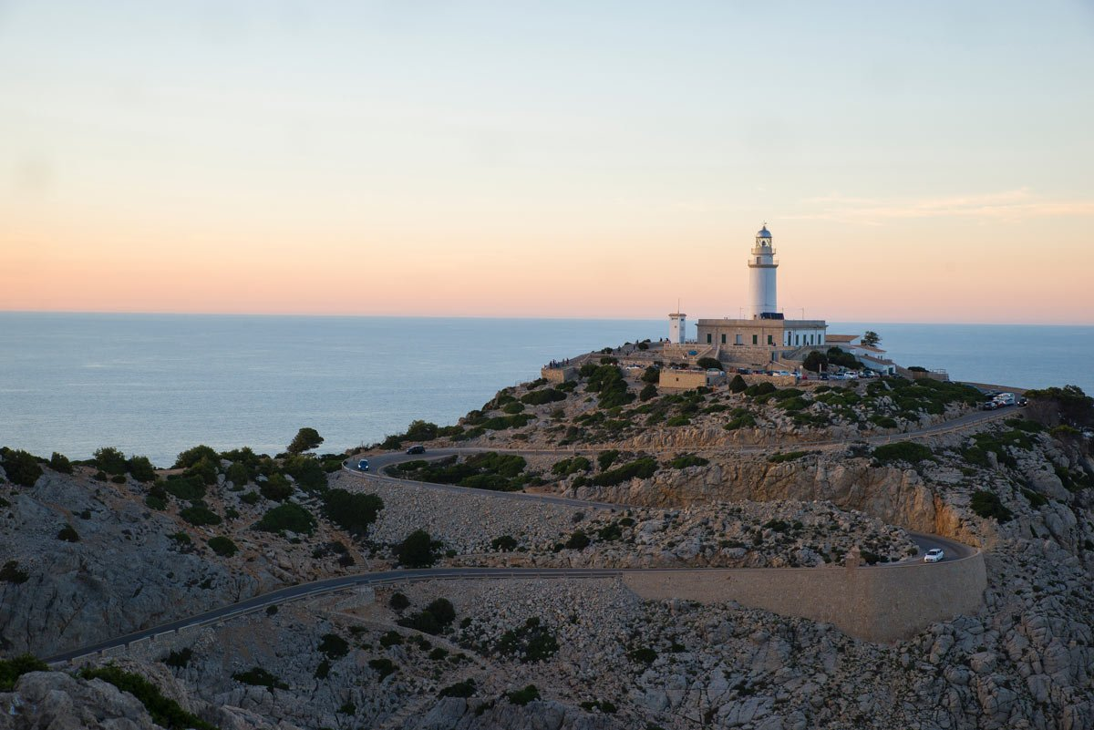 The Cap de Formentor lighthouse opened in 1863 at the northernmost point of Mallorca.