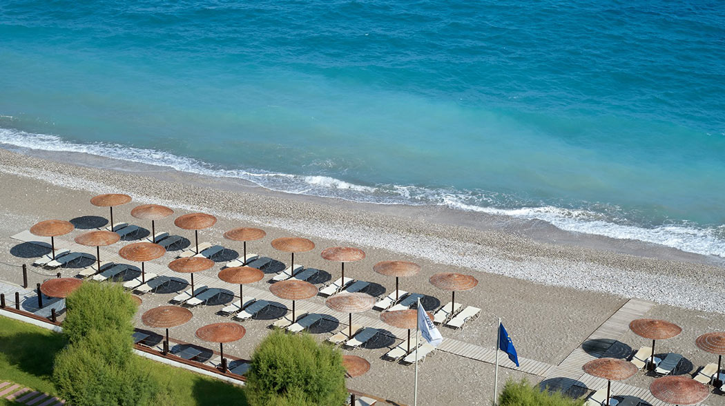 Beach at Elite Suites, Rhodes