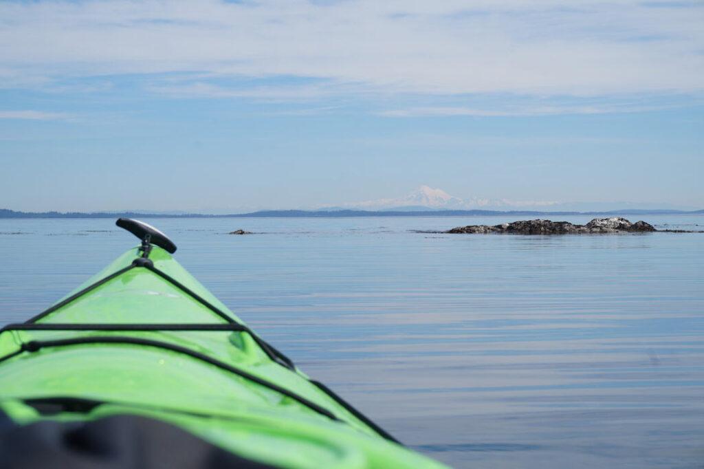 Kayaking at Telegraph Cove