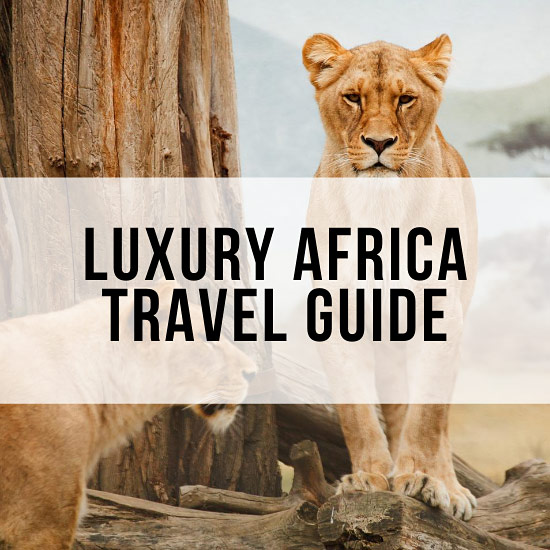 Luxury Africa travel guide