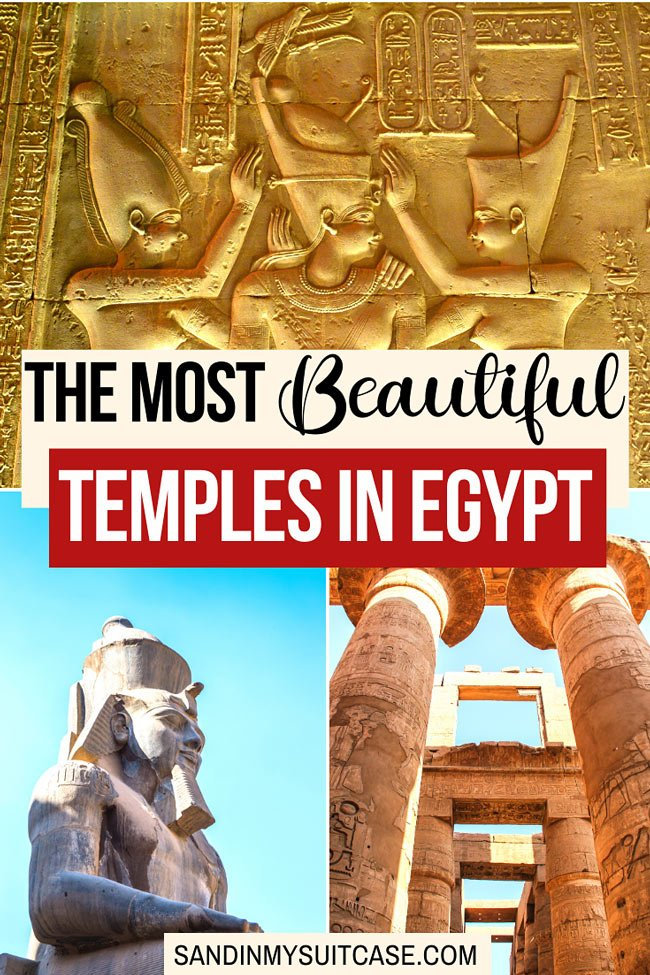 The most beautiful temples in Egypt