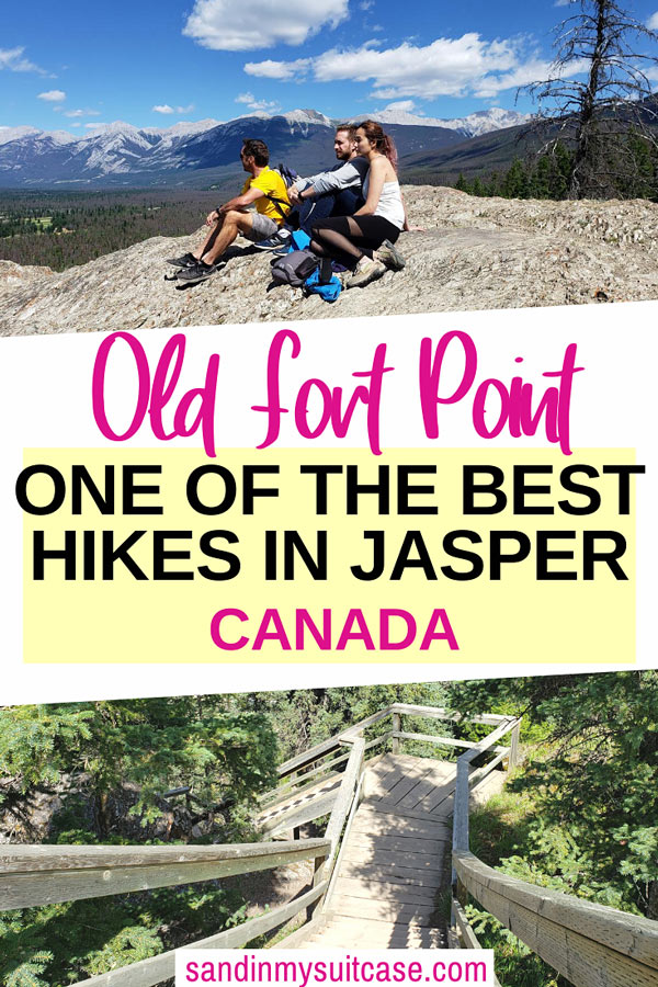 Old Fort Point Hike, Jasper National Park
