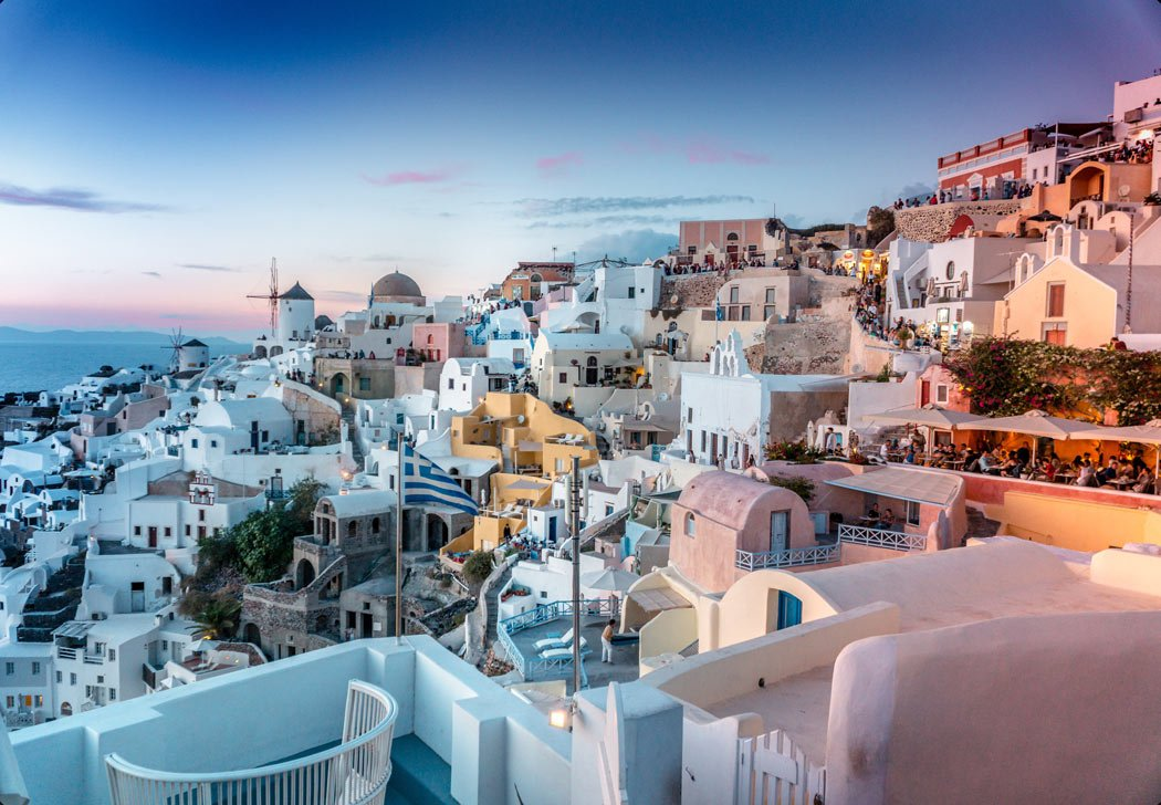 Santorini is one of the most beautiful places to visit in Greece.