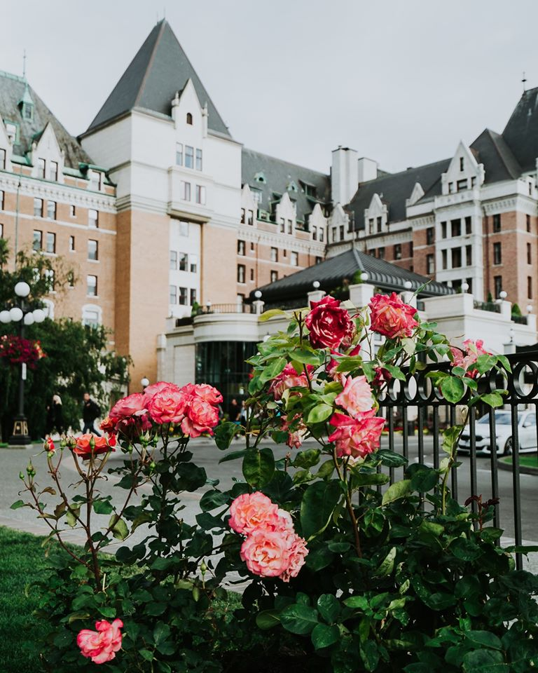 The Fairmont Empress is the best 5-star hotel in Victoria, BC