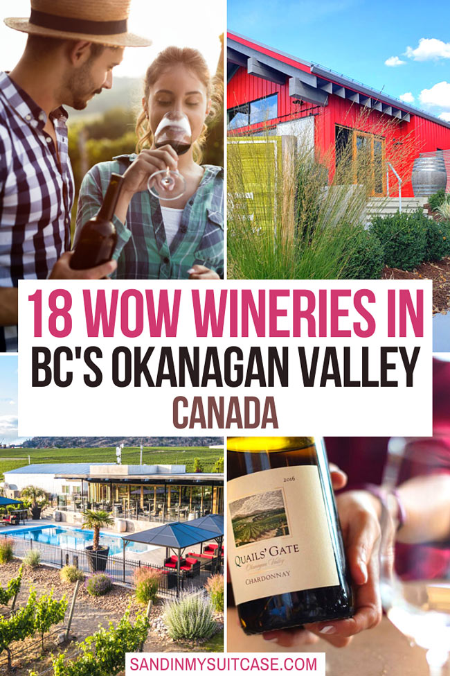 The best wineries in the OkanaganValley