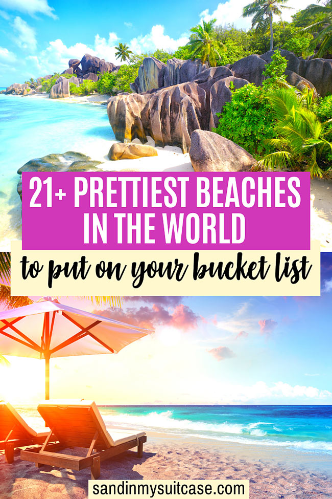 The world's prettiest beaches