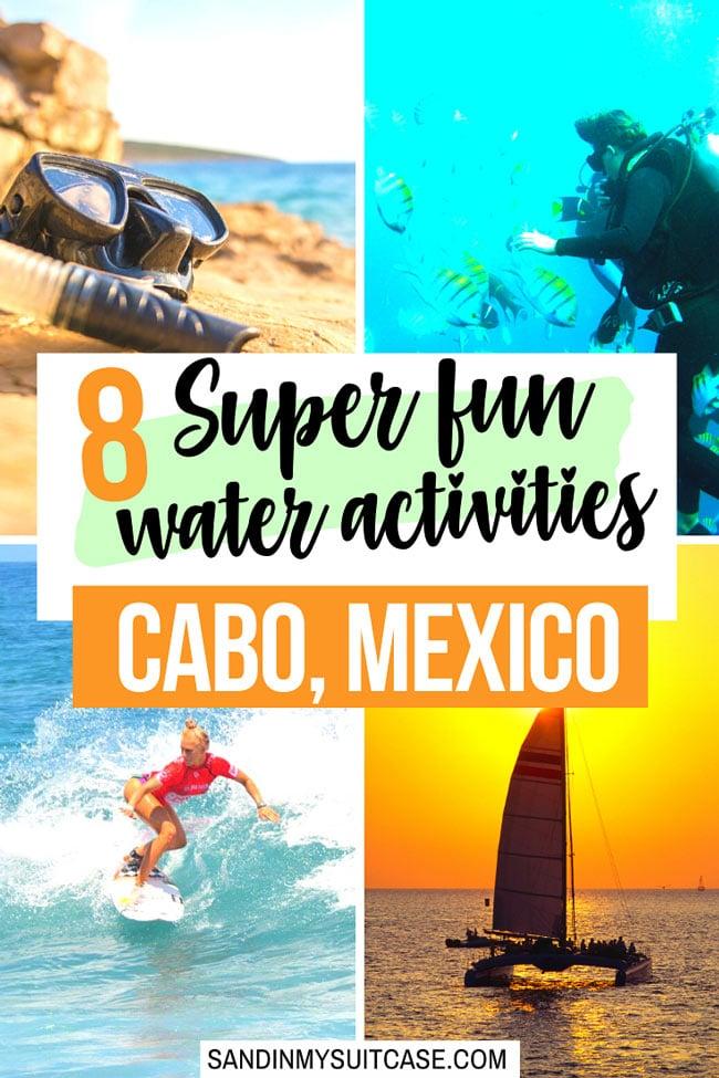 Fun water activities in Cabo San Lucas