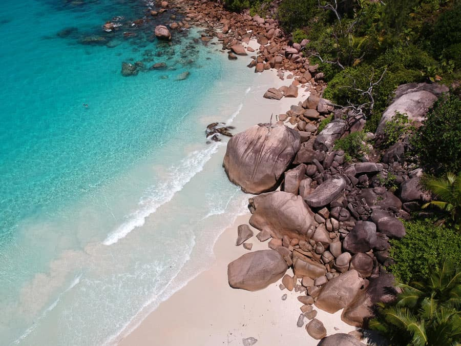 Anze Lazio in the Seychelles is widely regarded as one of the top 10 beaches in the world