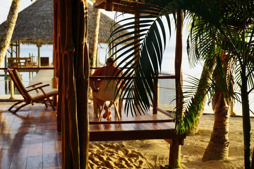 Tortuga cabin at Casa Cayuco is the cabin closest to the beach