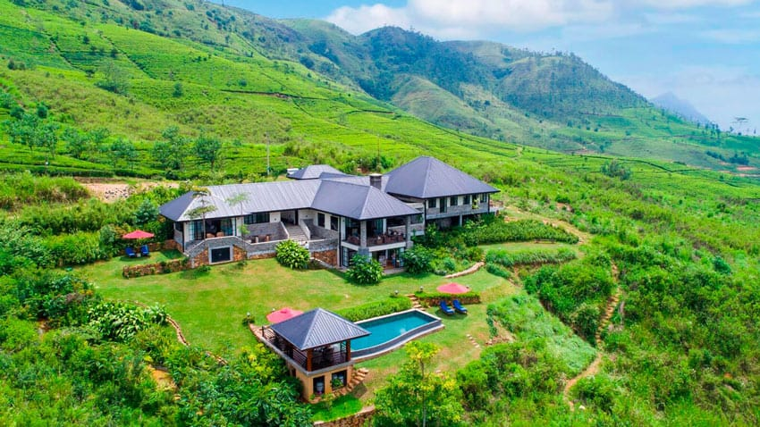 One of the best Sri Lanka boutique hotels, Camellia Hills is a luxurious tea-country hideaway.