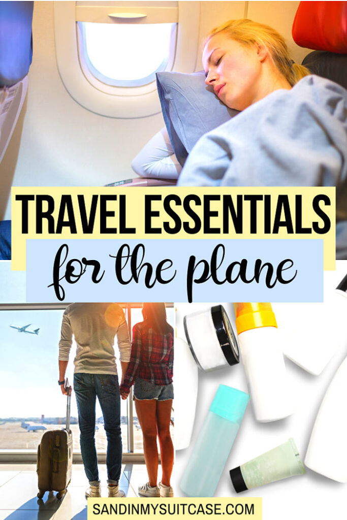 Travel Essentials for the Plane