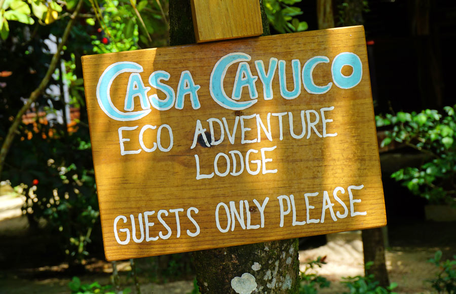 Casa Cayuco eco-adventure lodge
