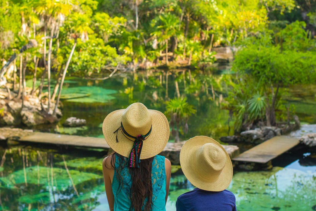 The cenotes are an absolute highlight of a visit to the Riviera Maya.