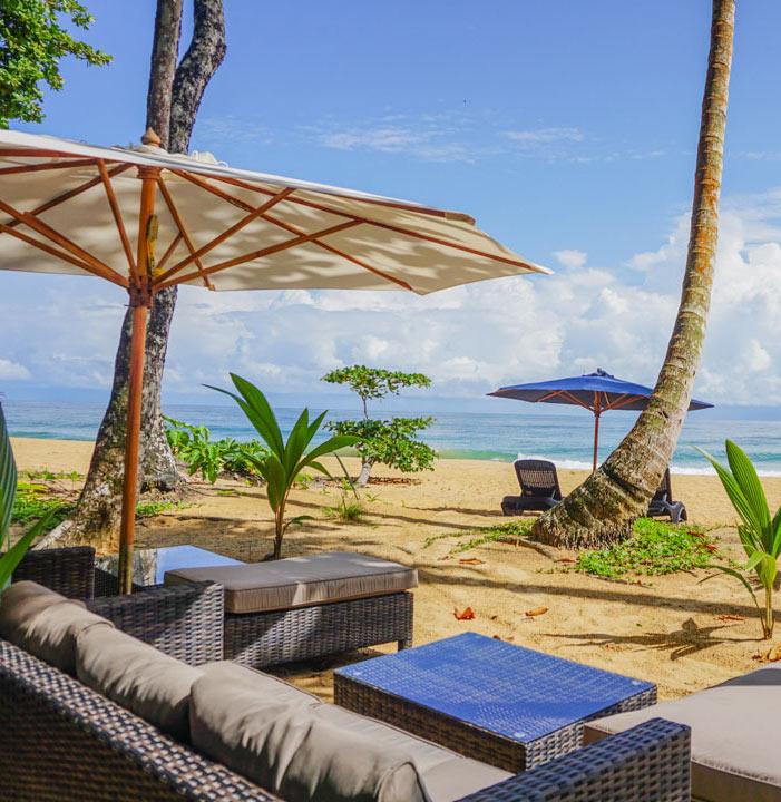 Beach club at Island Plantation, Bocas del Toro