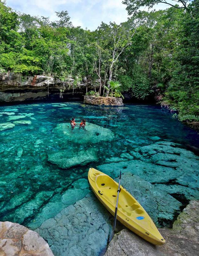 Kantun-Chi Cenotes