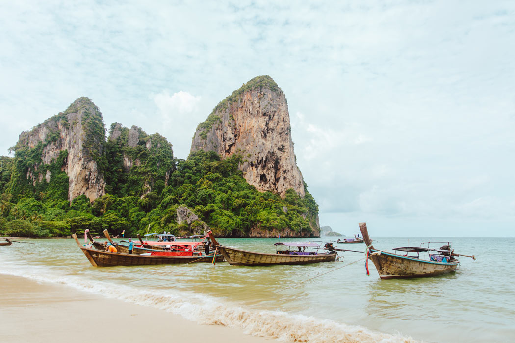 Railay Beach is one of the most beautiful beaches in the world
