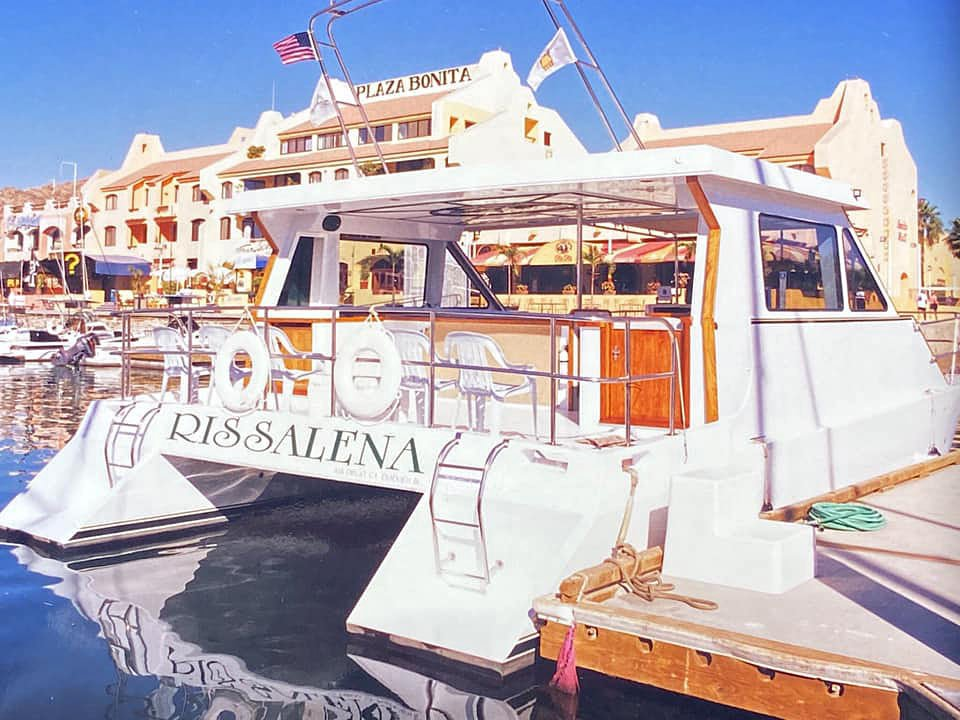 The Rissalena is one of the nicest boats for a sunset cruise in Cabo