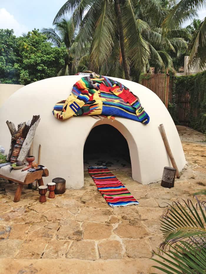 The Temazcal at the Wayan Spa (Credit: Viceroy Riviera Maya)