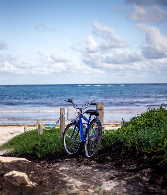 Bicycling is one of the best things to do in Tulum, Mexico.