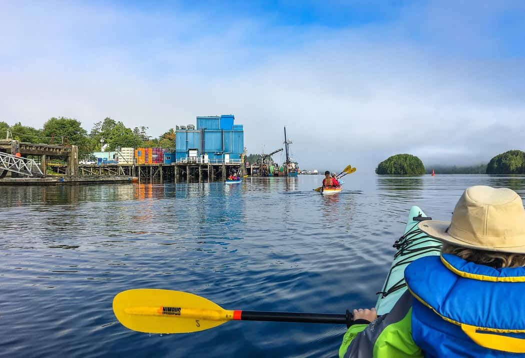 Kayaking is one thing you should definitely put on your Vancouver Island itinerary!