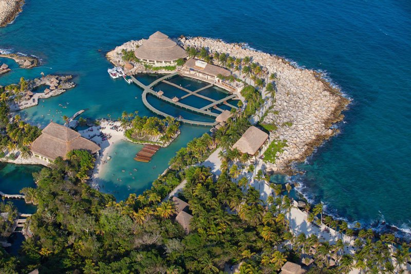 Xcaret is one of the most popular attractions in Riviera Maya