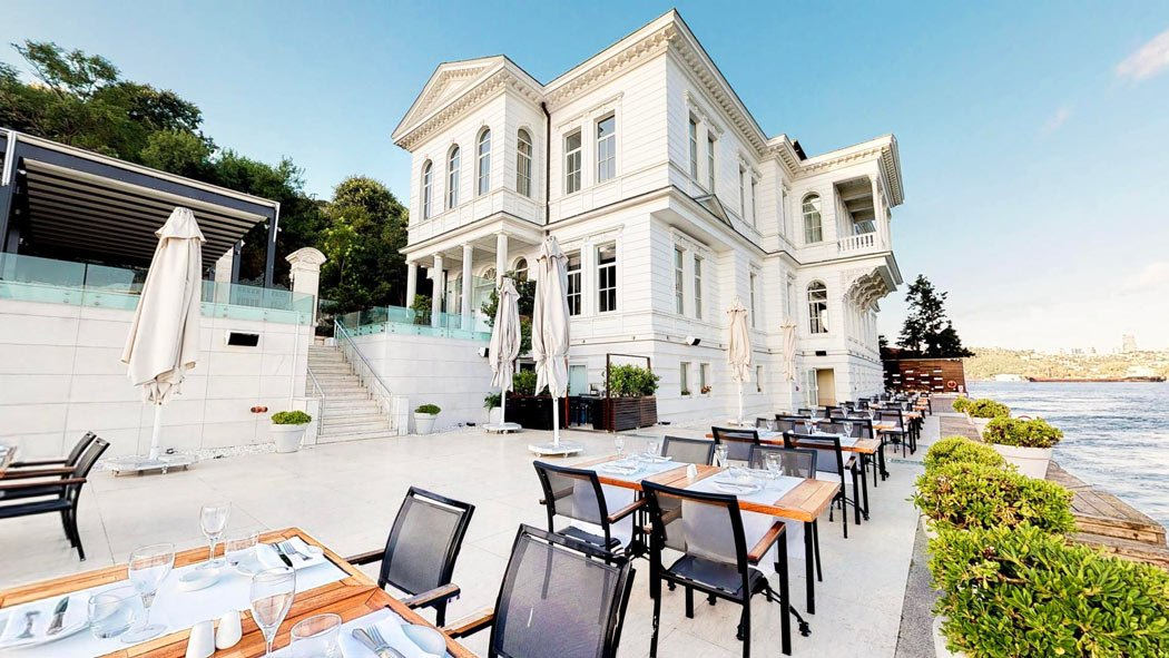 Overlooking the Bosphorus, the A'jia Hotel is one of the best places to stay in Istanbul.