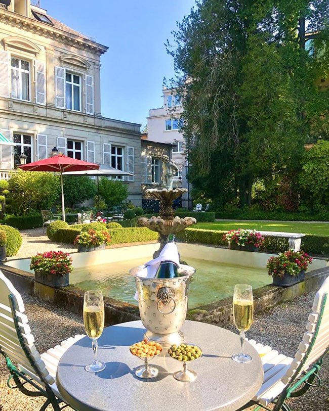 Hotel Belle Epoque is one of the most romantic hotels in Europe
