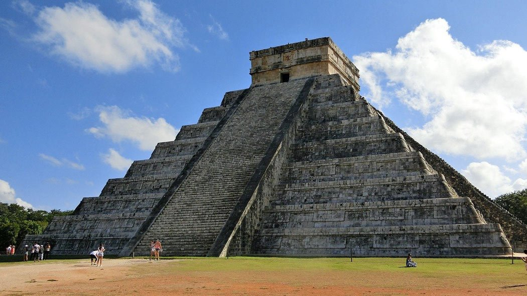 Chichen-Itza is an spectacular Mayan city in the jungle