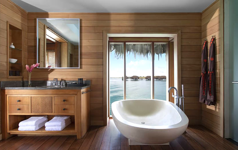 Four Seasons Resort Bora Bora Bathroom