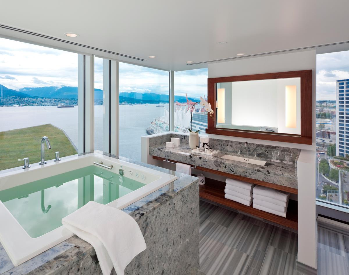 Fairmont Pacific Rim Signature Ofuro room bathroom