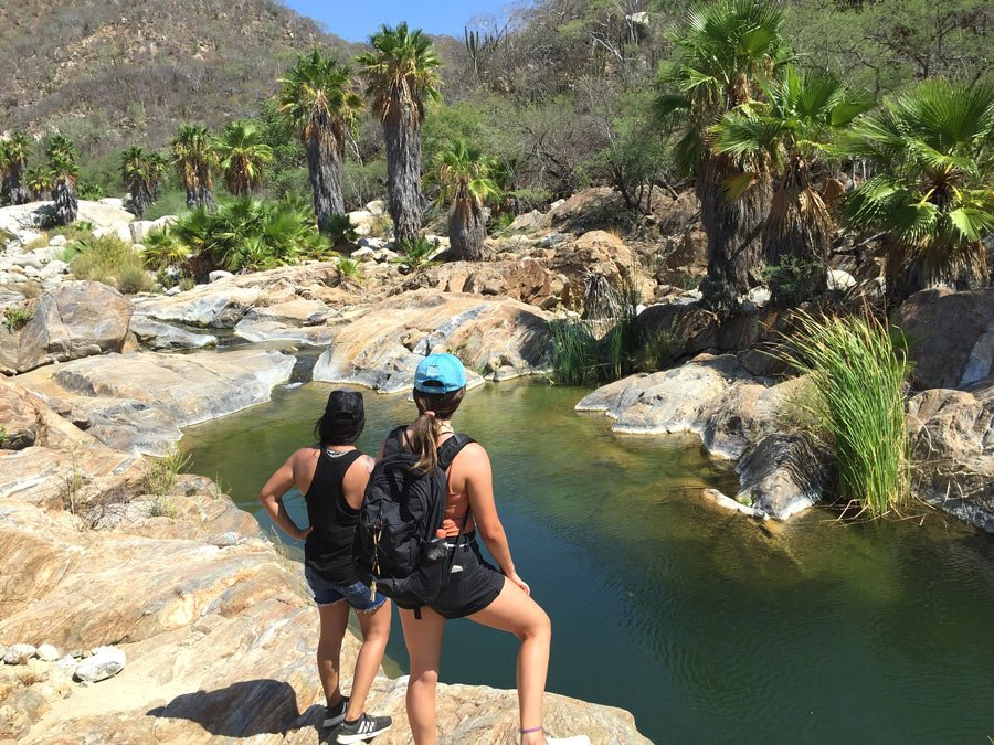 Hiking in Los Cabos at the Canyon of the Fox
