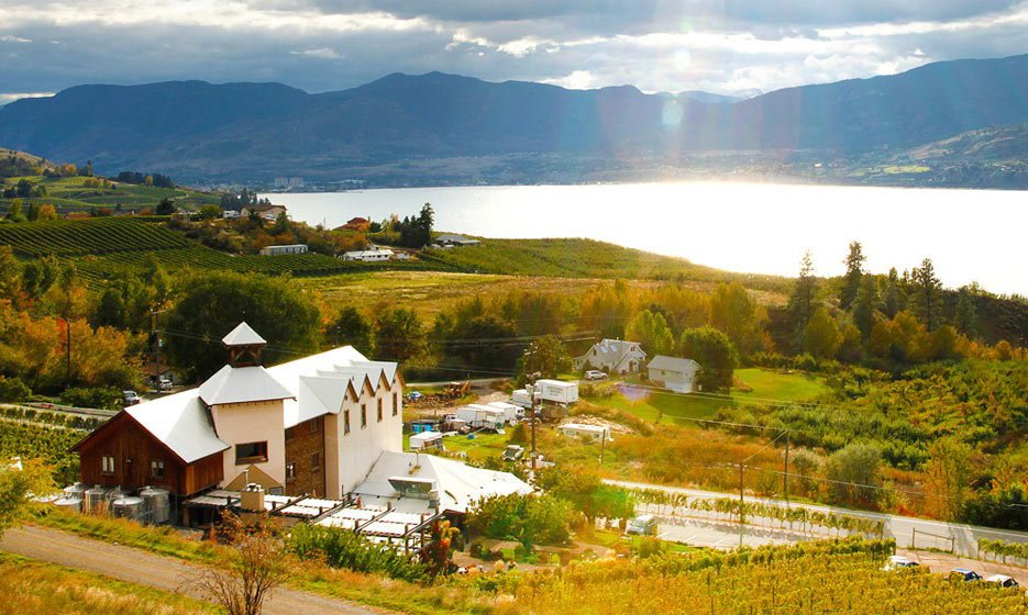 The Hillside Winery Bistro is one of the best Naramata winery restaurants