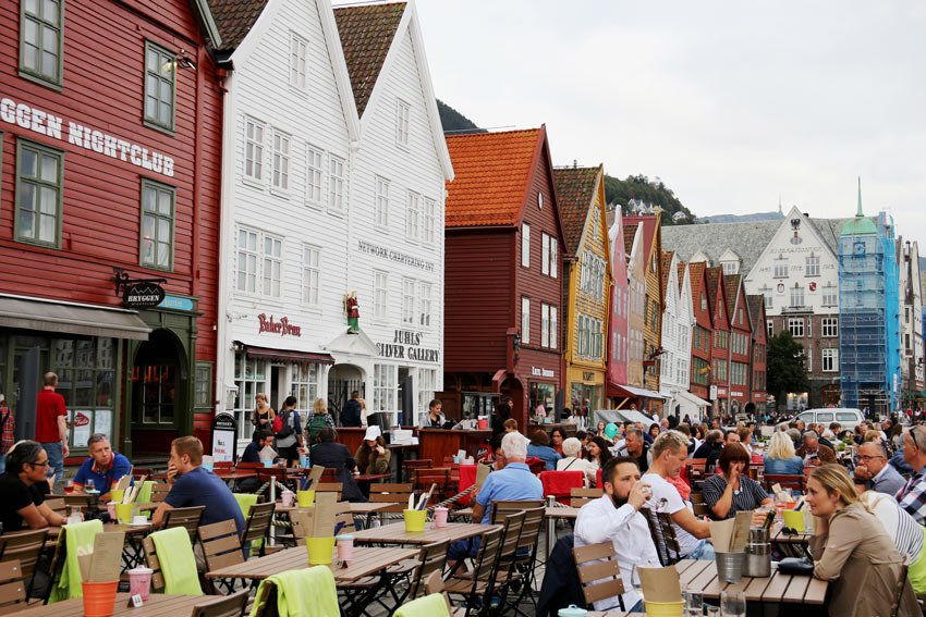 A UNESCO World Heritage Site, Bryggen is one of the most popular Bergen attractions
